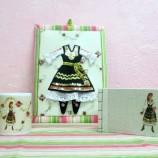 Подаръчен комплект с женска шопска носия