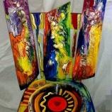 Ръчно декориран стол-4