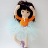 Алексис - Ръчно плетена кукла на една кука