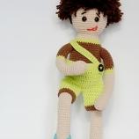 Дениз - ръчно изработена кукла на една кука