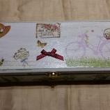 Дървена кутия Lovely Garden