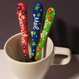 Персонализирани Ръчно декорирани лъжички за чай