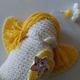 Плетени ангели за декорация