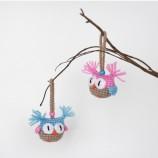 Комплект от Коледни бухалчета - Коледен декор бебе сови