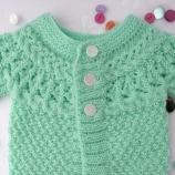Плетено бебешко елече
