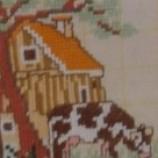 къща и крава