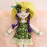 Дарла - текстилна кукла