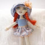 Ася - текстилна кукла