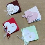 Картички - сърчица от ръчна хартия