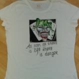 Тениска рисувана