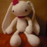 Плетена играчка Зайче