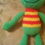 Плетена играчка Жабче