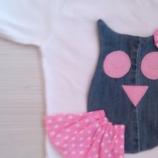 Блузка с декорация