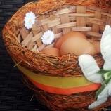 Кошничка с Великденски заек