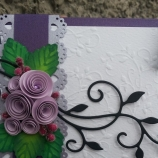 Квилинг картичка-плик