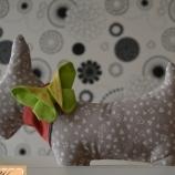 Текстилна играчка куче