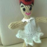 Плетена кукла играчка Семейство Флинстоун