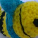 Плетена кукла играчка Три рибки на сладки
