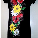 Рисувана рокля