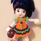 плетена кукла Криста