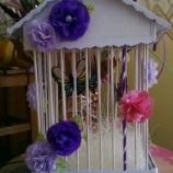 Butterflies in cage