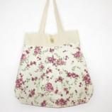 Двулицева чанта с цветя