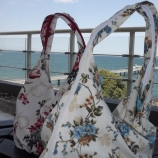 Текстилна дамска чанта