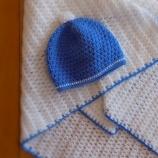 buy Одеялце и шапка в комплект in Bazarino