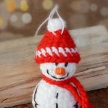 Малък снежен човек - подарък за Коледа