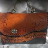 Дамска кожена чанта '' ROCA''