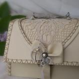 Дамска кожена чанта ''LACE''