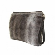 buy Shaggy Clutch #03-brown in Bazarino