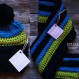 Комплект шал и шапка!