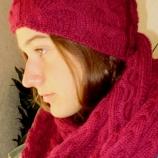 Комплект шапка и шал