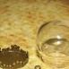 buy Стъклена сфера 20/15мм бронз in Bazarino