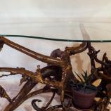 маси от обработени корени,ръчна изработка-уникат