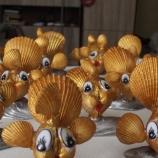 Златна рибка от миди