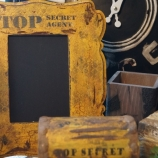 Комплект съндъче за бижута и рамка за снимка Top Secret