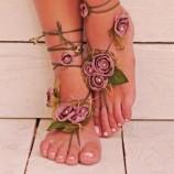 Аксесоари за крака - боси сандали