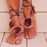 Боси сандали- гривна за крака
