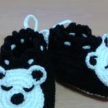 Бебешки/детски плетени терлички
