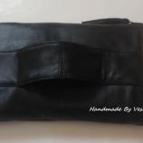 Ръчно изработена чанта клъч от естествена кожа