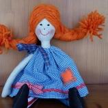 Кукла Пипи дългото чорапче