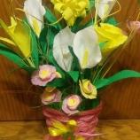 Цветя от хартия - букет