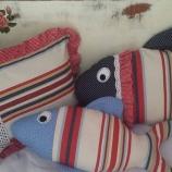 Възглавничка Синя рибка