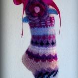 Романтични ръчно плетени чорапи