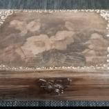 Дървена кутия Винтидж