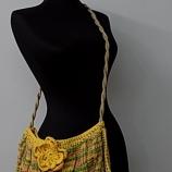 Ръчно плетена чанта за лятото