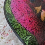 Кутия сърце Love birds