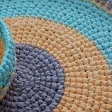 Панер и килим от рециклиран памук